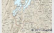 Shaded Relief Map of Cyangugu