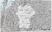 Gray 3D Map of Gikongoro