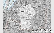 Gray Map of Gikongoro