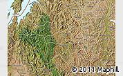 Satellite Map of Gikongoro