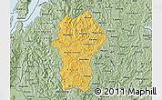 Savanna Style Map of Gikongoro