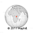 Outline Map of Kigarama