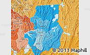 Political Shades Map of Kibungu