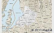 Classic Style Map of Kibuye