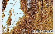 Physical Map of Kibuye