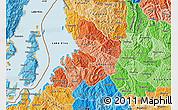 Political Shades Map of Kibuye