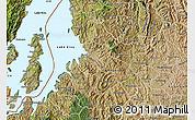 Satellite Map of Kibuye