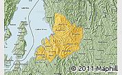 Savanna Style Map of Kibuye