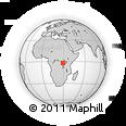 Outline Map of Kibuye