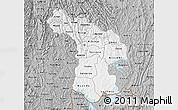 Gray Map of Kigali