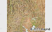 Satellite Map of Kigali