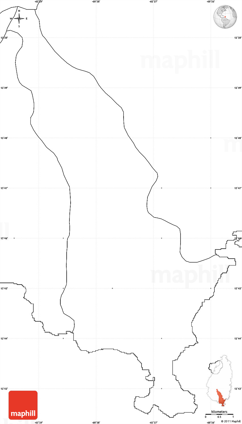 America Map Without Labels Wall HD - Us map no labels