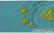 Satellite 3D Map of Saint Pierre and Miquelon