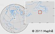 Savanna Style Location Map of Saint Pierre and Miquelon, lighten, desaturated