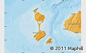 Political Map of Saint Pierre and Miquelon