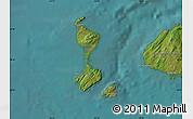 Satellite Map of Saint Pierre and Miquelon