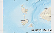 Shaded Relief Map of Saint Pierre and Miquelon