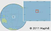 Savanna Style Location Map of Aiga-i-le-Tai