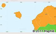 Political Simple Map of Aiga-i-le-Tai