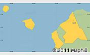 Savanna Style Simple Map of Aiga-i-le-Tai