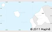 Silver Style Simple Map of Aiga-i-le-Tai, single color outside