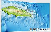Physical 3D Map of Atua