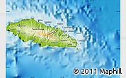 Physical Map of Atua