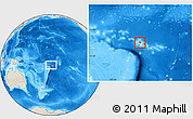 Shaded Relief Location Map of Fa'asaleleaga