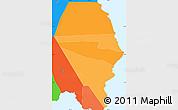 Political Shades Simple Map of Fa'asaleleaga