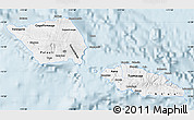 Classic Style Map of Samoa