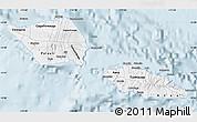 Gray Map of Samoa