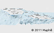 Classic Style Panoramic Map of Samoa