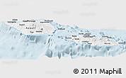 Gray Panoramic Map of Samoa