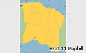 Savanna Style Simple Map of Tuamasaga
