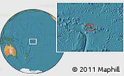 Satellite Location Map of Va'a-o-Fonoti