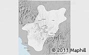 Gray 3D Map of Baha