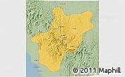 Savanna Style 3D Map of Baha