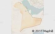 Satellite 3D Map of Eastern Province, lighten