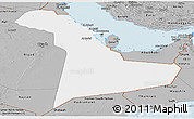 Gray Panoramic Map of Eastern Province