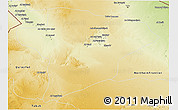 Physical 3D Map of Jawf