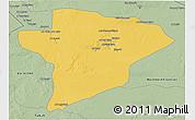 Savanna Style 3D Map of Jawf