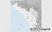 Gray 3D Map of Jizan
