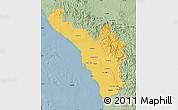 Savanna Style Map of Jizan