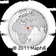 Outline Map of Makkah