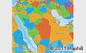 Political Map of Saudi Arabia
