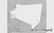 Gray 3D Map of Najran