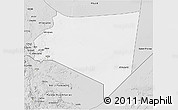 Silver Style 3D Map of Najran