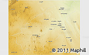 Physical 3D Map of Quassim