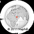 Outline Map of Riyad