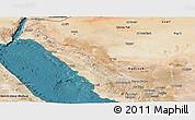 Satellite Panoramic Map of Tabuk